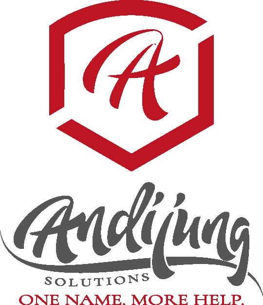 Andijung Solutions Sticky Logo