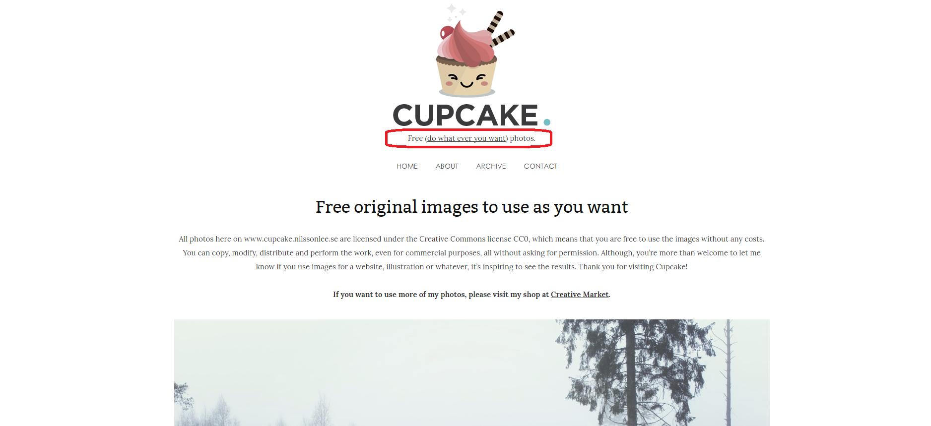 Cupcake, jogtiszta fotók, ingyenes fotók, jogtiszta képek, ingyenes képek